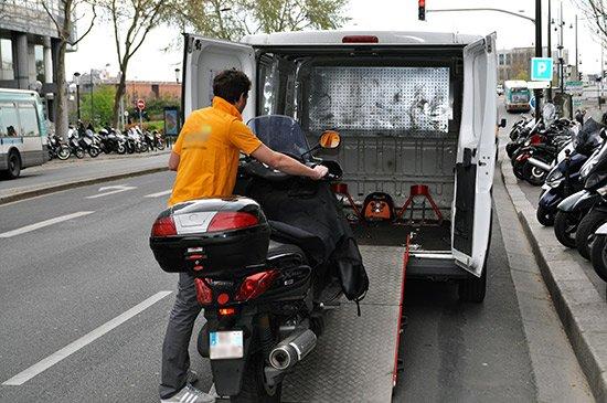 Dépannage scooter paris