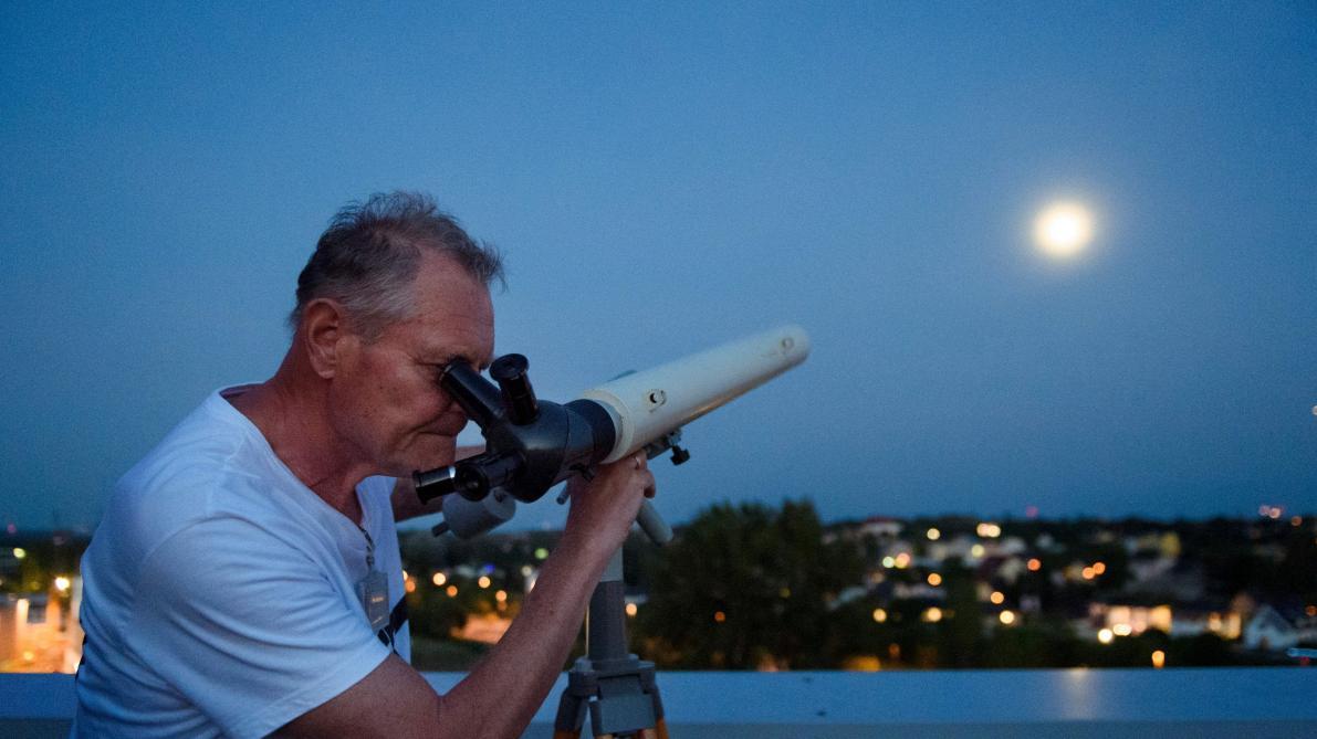 télescope d'astronomie